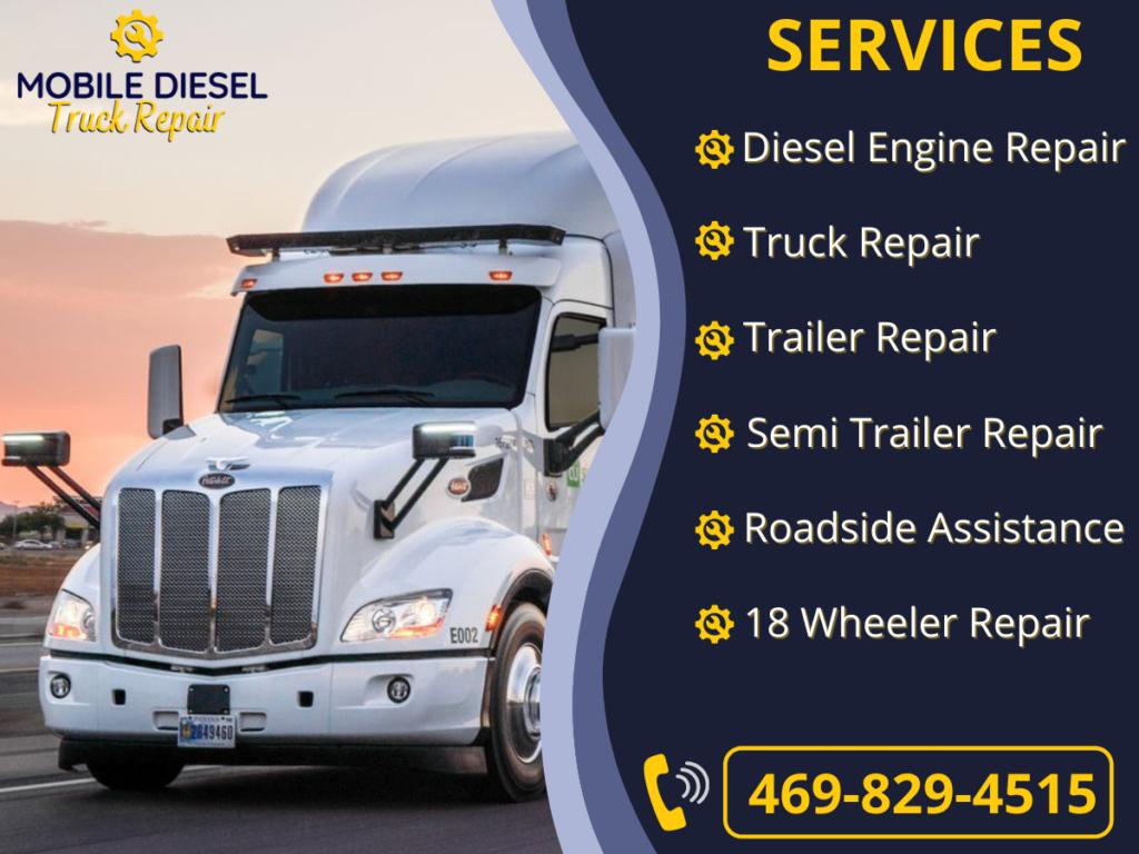 Diesel mechanic service
