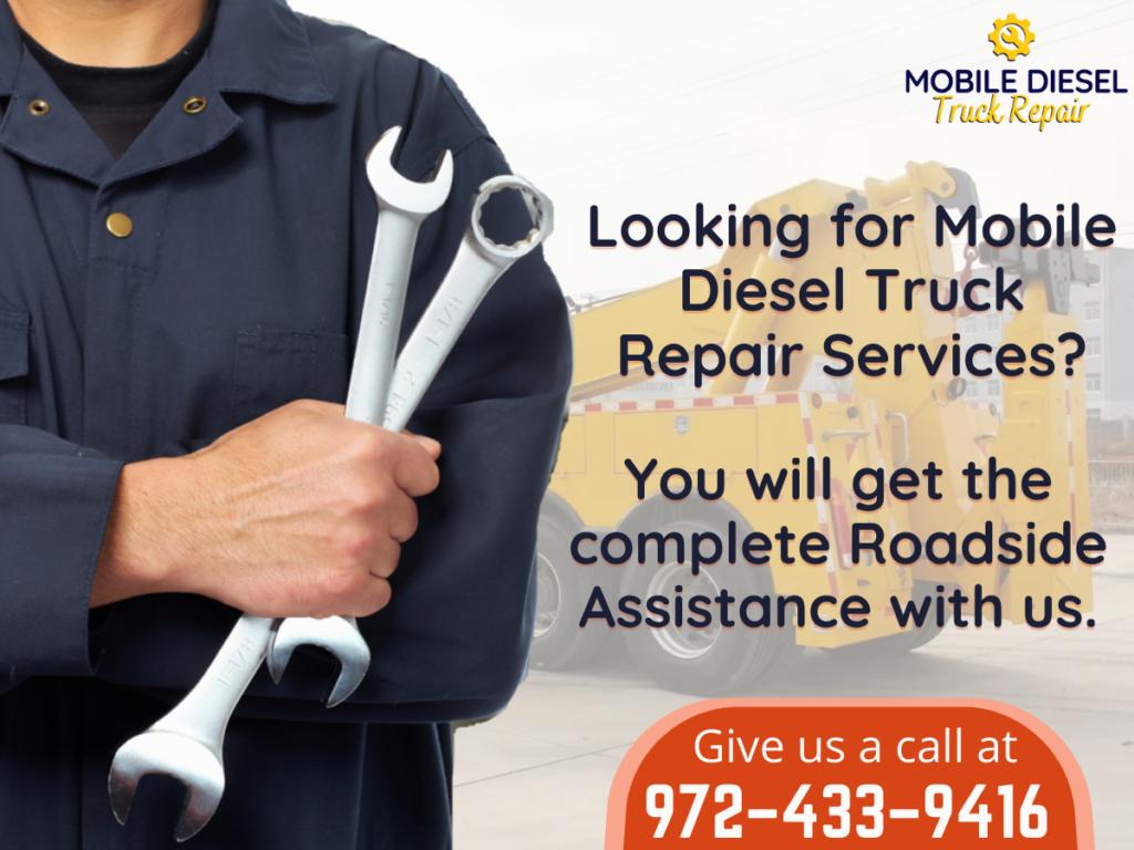 Mobile disel Truck Repair